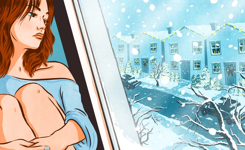 Illustration for article titled How to Cope With Spending the Holidays Alone