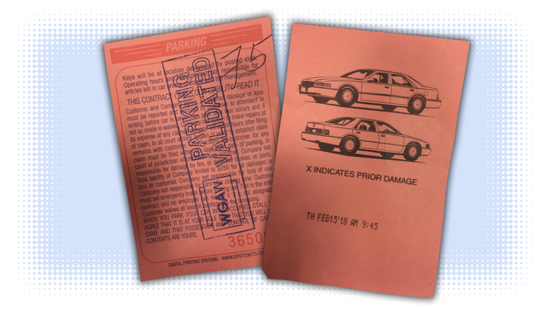 Illustration for article titled Let's Identify The Car Drawings On Valet Tickets