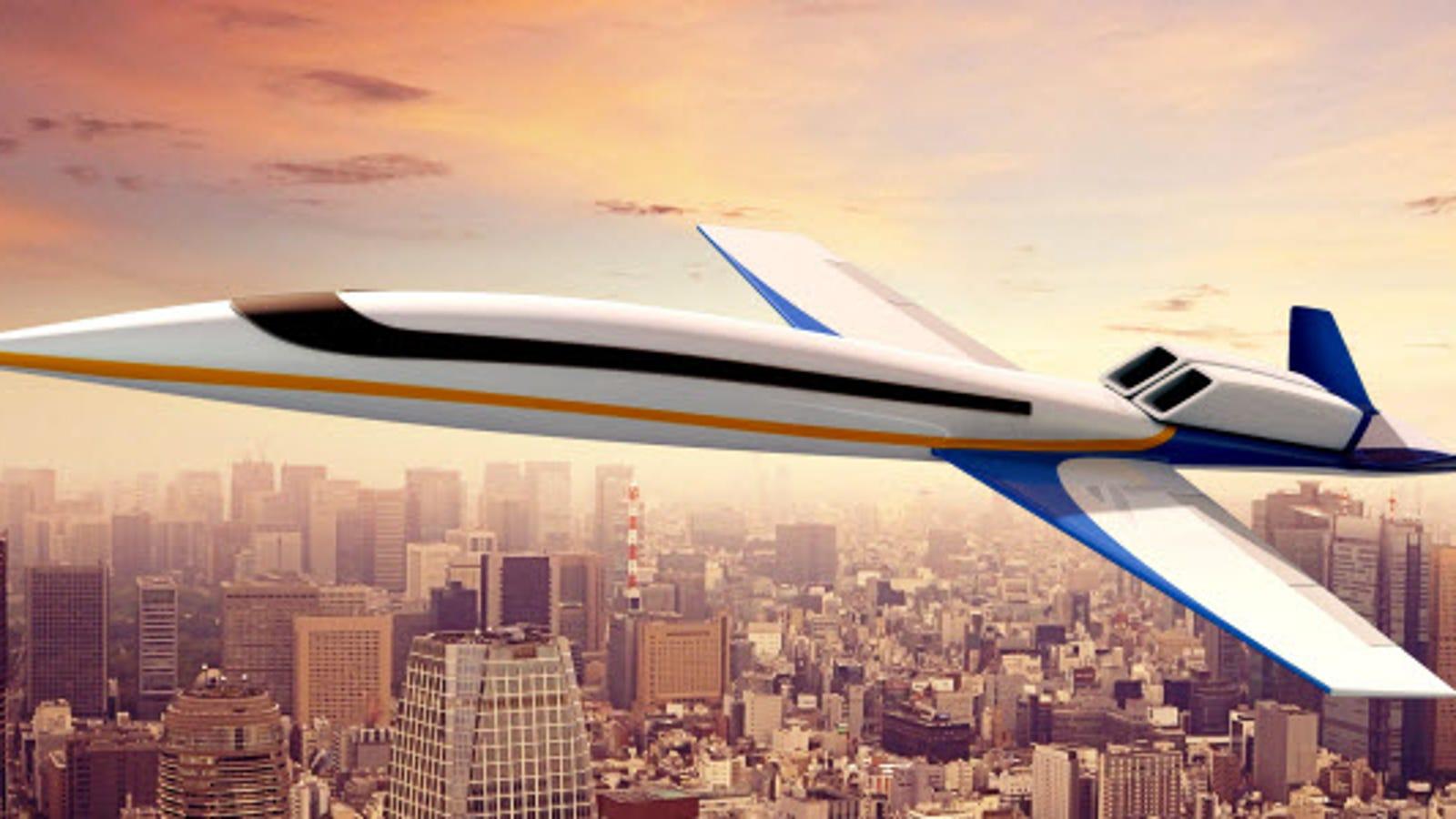 Ya puedes encargar el primer jet privado supersónico del mundo