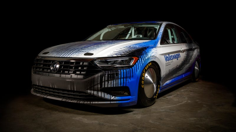 Illustration for article titled Volkswagen Didn't Run a Crazy 2019 Jetta at Bonneville After All