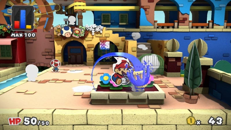 Illustration for article titled After Outcry, Nintendo Says Paper Mario: Color Splash Doesn't Reference 'Hate Campaign'