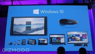 Illustration for article titled Windows 10 llegará en verano, pero no para smartphones