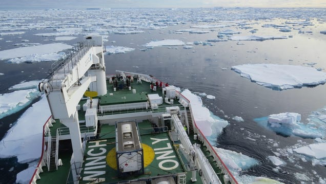 Ancient Antarctic Ice Sheet Loss Dwarfs Modern Melting, Study Finds