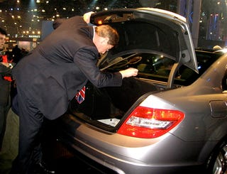 Illustration for article titled Scoping the Competition: Audi Exec Checks Out New C-Class