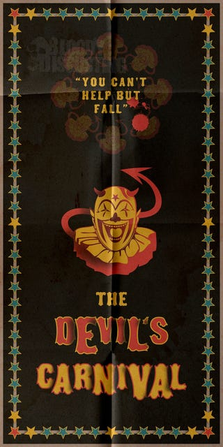 Illustration for article titled The Devil's Carnival Poster