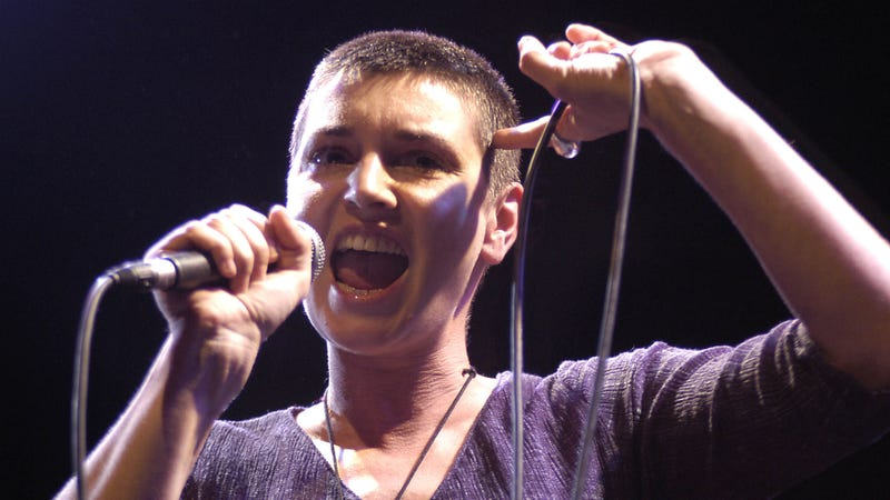 Illustration for article titled Sinead O'Connor is done with white people
