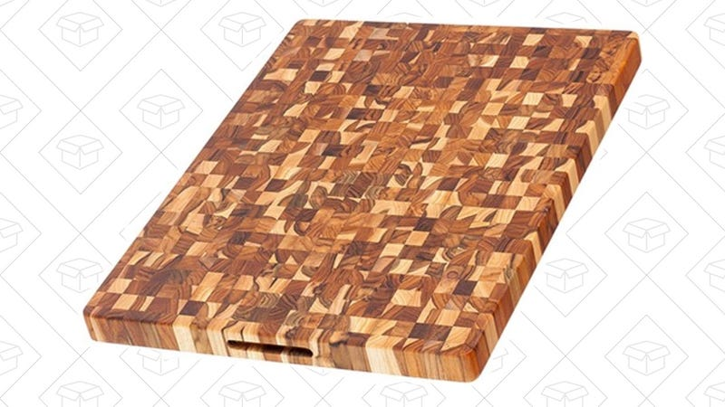 Teakhaus 332 Rectangle End Grain Butcher Block 24 x 18 x 1.5 in | $75 | Woot | Free shipping for Prime members, $5 for non-members