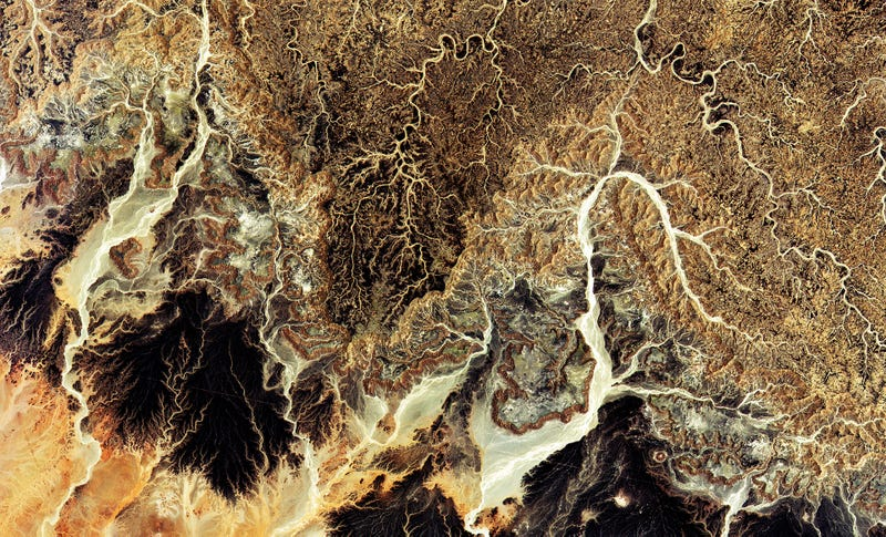 Illustration for article titled A Satellite's First Look at Earth Has a Stunning Photo of the Sahara