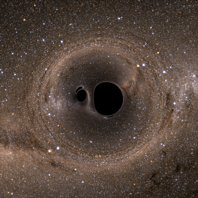 This Is What It REALLY Looks Like When Two Black Holes Collide