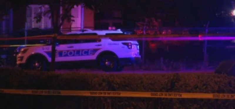 Police cruiser in Columbus, Ohio, where officers shot and killed a 13-year-old boy in a call about an armed robbery.AP Screenshot
