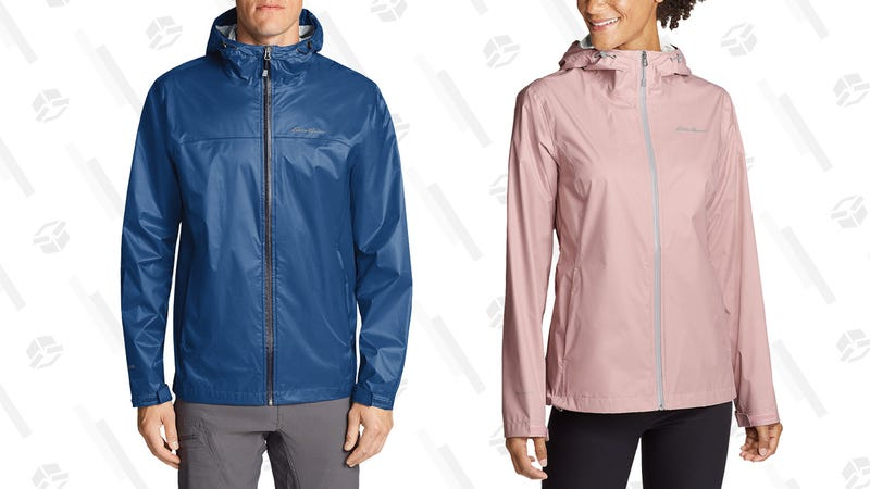 Stay Dry During April Showers With 55% Off Eddie Bauer Cloud Cap Rain Jackets