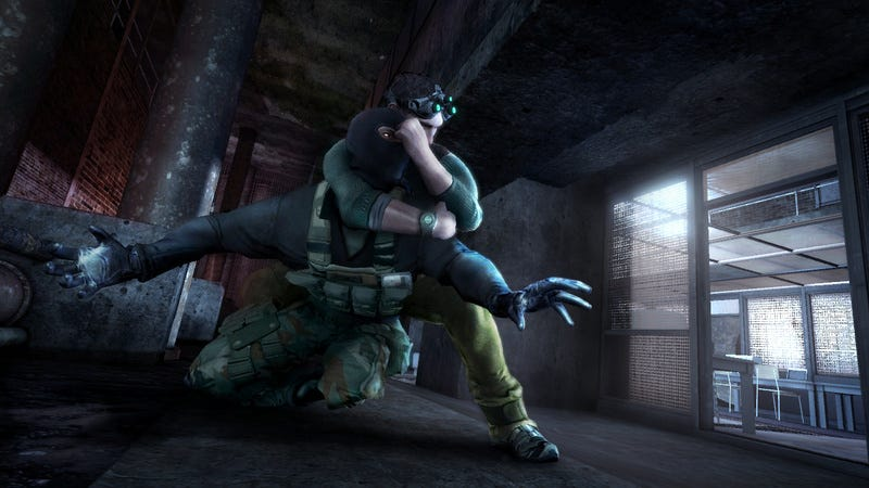 Illustration for article titled Splinter Cell Conviction Impressions: More Panther, Less Grandma