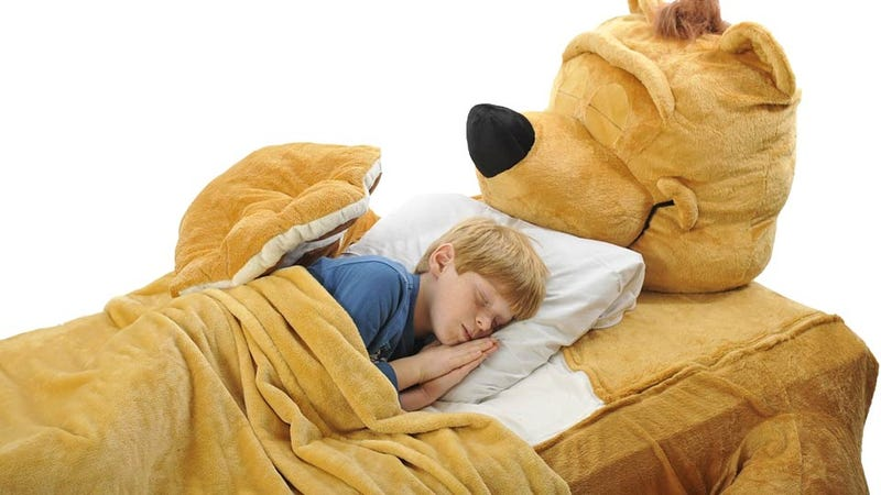 Illustration for article titled This Bed Gives Kids the Wrong Impression About Bear Encounters