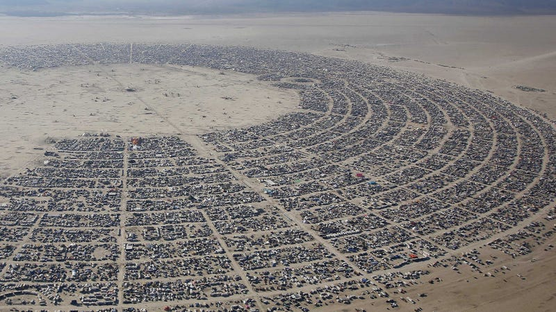 Illustration for article titled It was the biggest Burning Man ever, and this is what I saw there