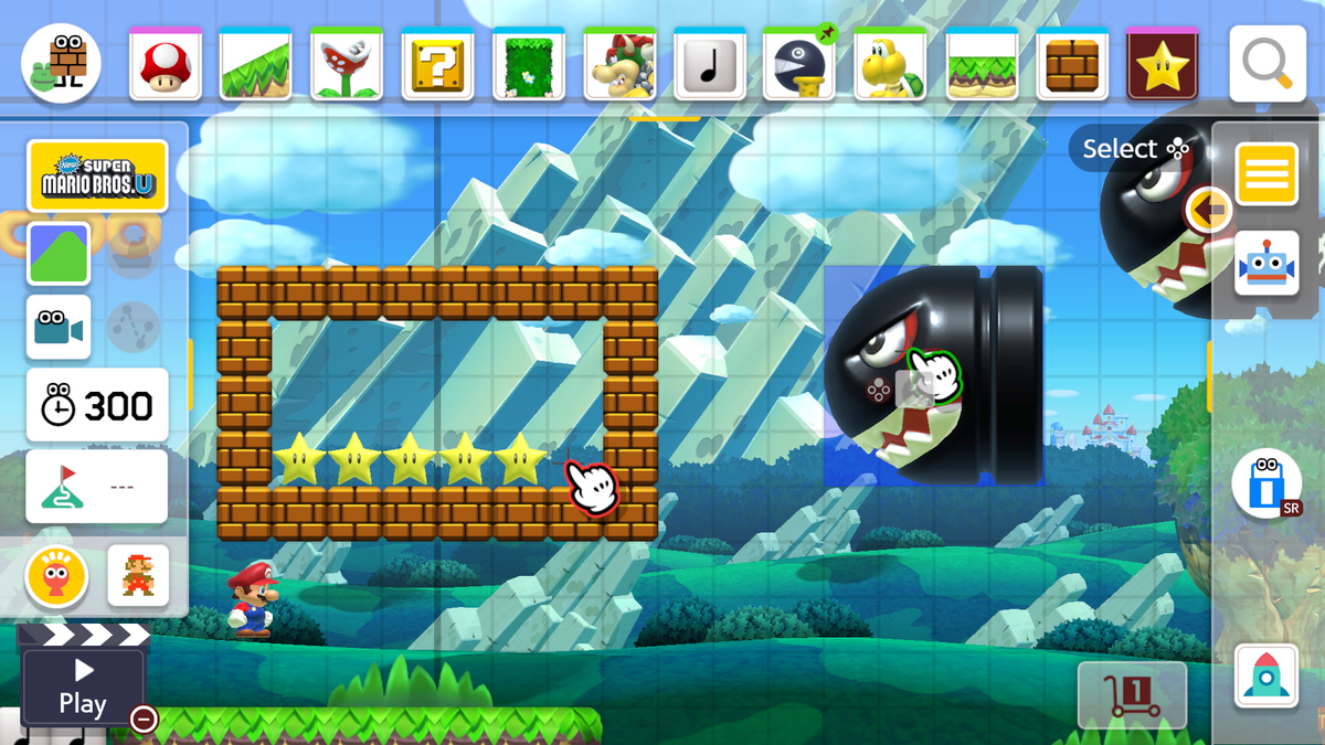 If You're Going To Play Mario Maker 2, You Should Probably Get A Stylus