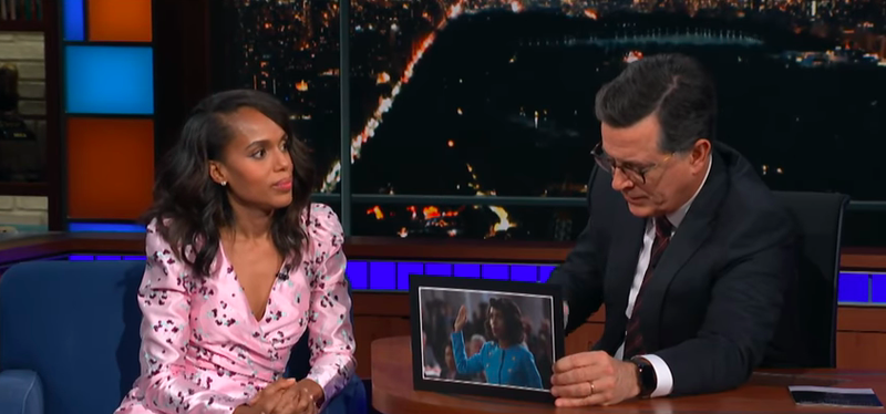 Kerry Washington, Stephen Colbert
