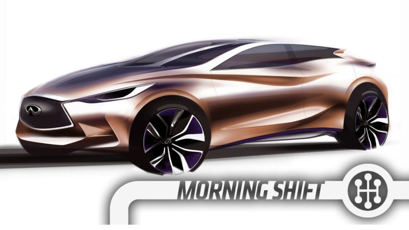 Illustration for article titled Could The Infiniti Q30 Be The Next Integra?