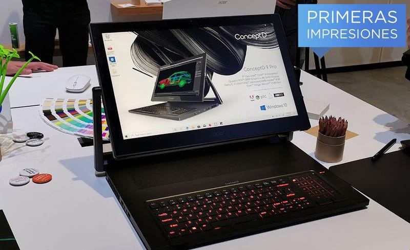 Illustration for article titled El último laptop profesional de Acer es una completa locura, pero necesitamos más locuras como esta