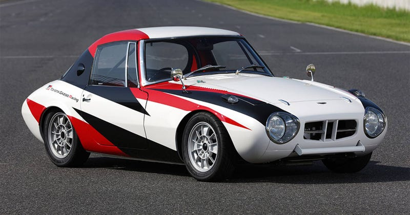 Illustration for article titled Gazoo Racing Restored an Early Toyota Race Car and it Rules