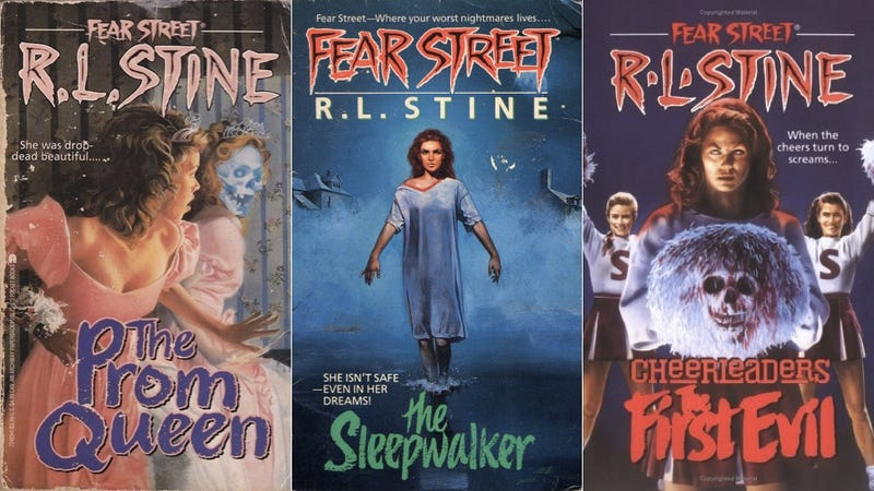 Illustration for article titled PRAISE EVIL CHEERLEADERS : R.L. Stine Writing More 'Fear Street' Books