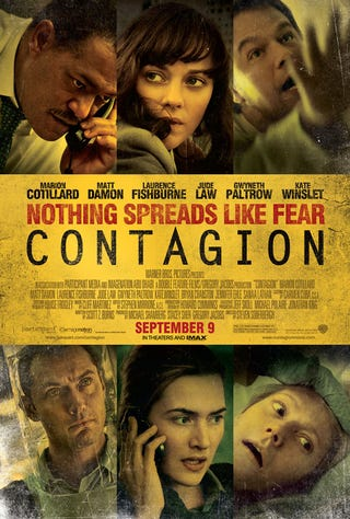 Illustration for article titled Contagion Poster