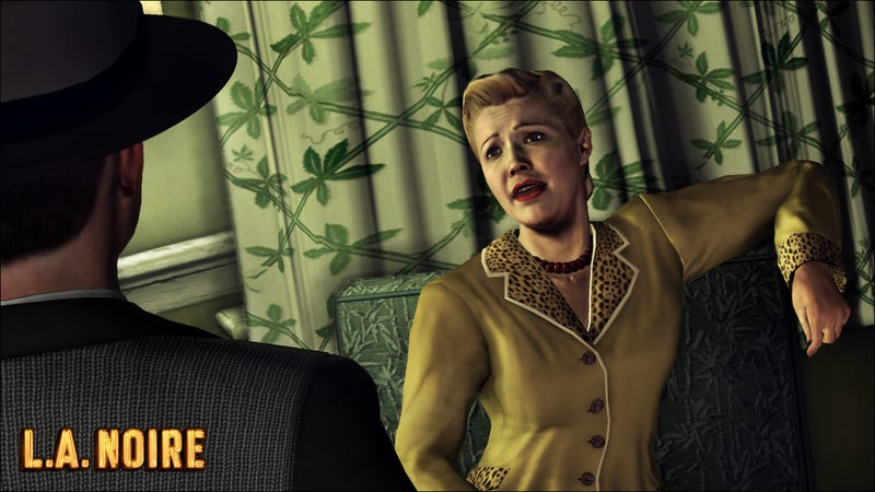 Illustration for article titled Cheer Up Lady, Here Are Some New LA Noire Screens