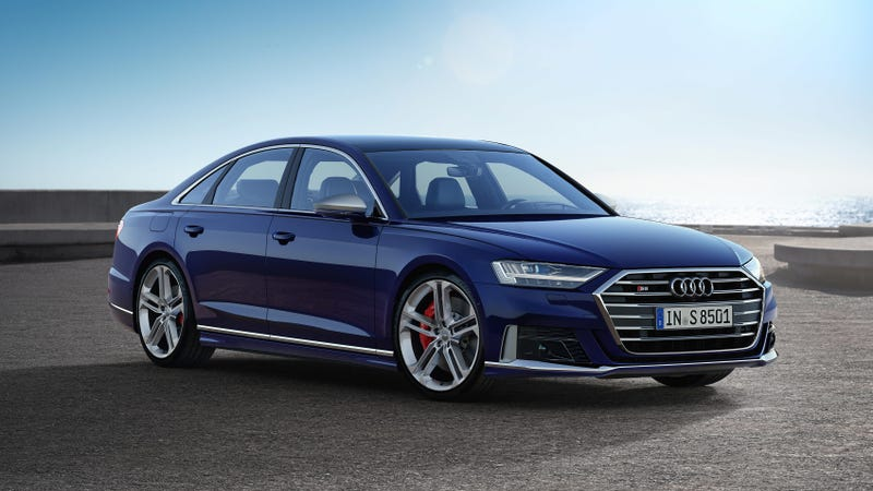 Illustration for article titled The 2020 Audi S8 Is Here With a 563-HP V8 and Hybrid Technology