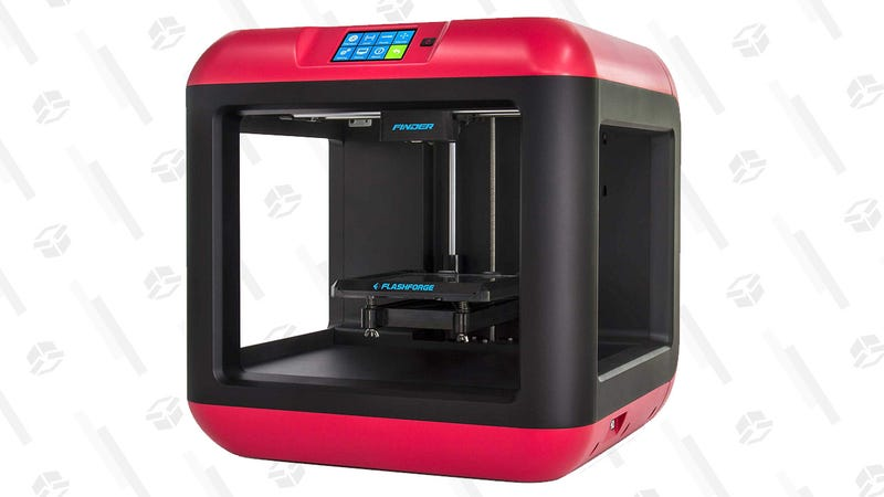 FlashForge Finder Wi-Fi 3D Printer with Cloud Connectivity   $299   Amazon