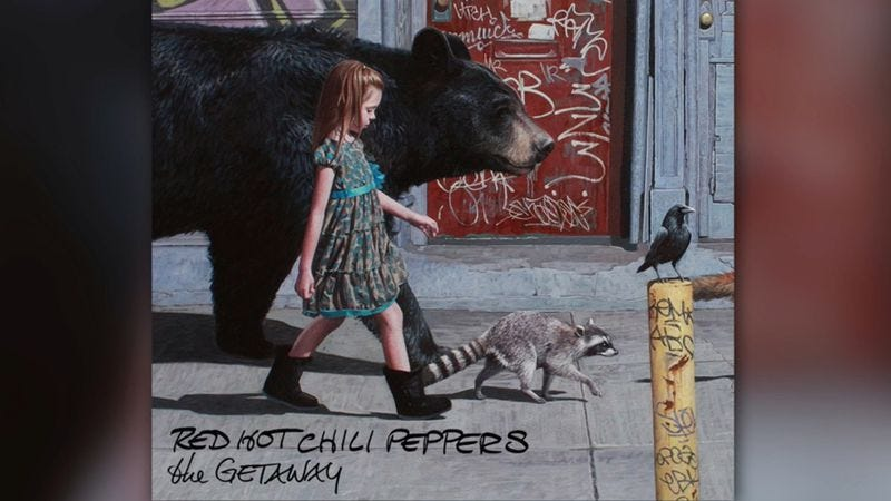 "Illustration for article titled Red Hot Chili Peppers share their ""Dark Necessities"" in new single"