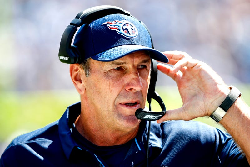 Head coach Mike Mularkey of the Tennessee Titans  (Wesley Hitt/Getty Images)