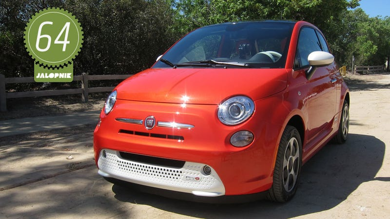 Fiat 500 electric review