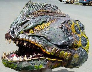 Illustration for article titled Behold the Piranaconda: Half Piranha Half Anaconda, all awesome!