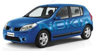 Illustration for article titled Special Edition Nokia-Branded Renault Is Full Of Gadgetry