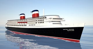 Illustration for article titled SS United States to Sail Again?