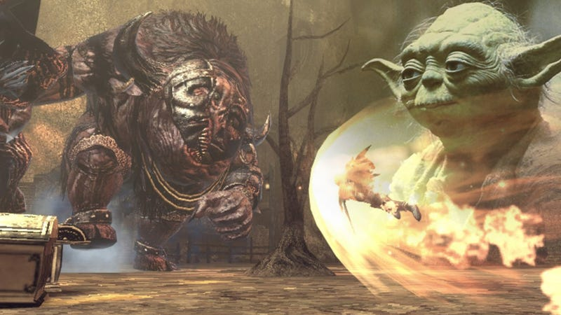 Illustration for article titled I Felt Yoda on My Shoulder Throughout Soul Sacrifice