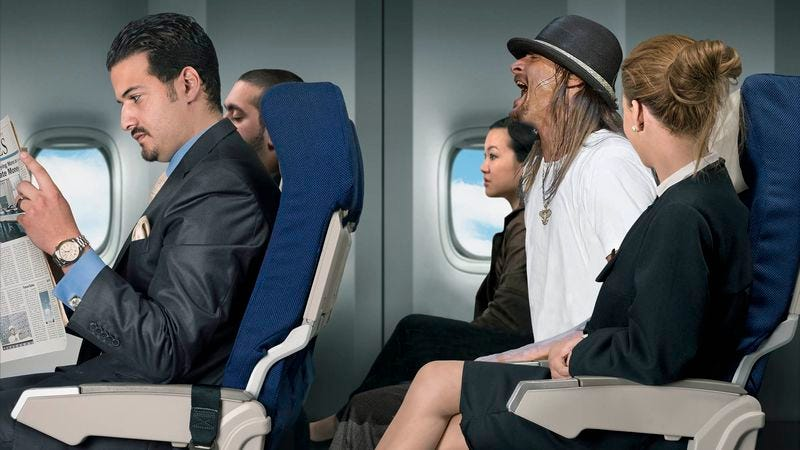 Illustration for article titled Everyone On Flight Annoyed By Screaming Kid Rock