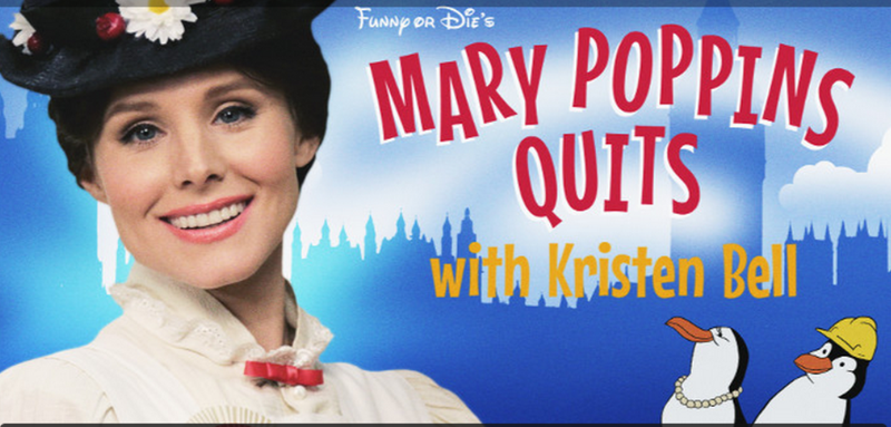 Illustration for article titled Kristen Bell Sings as Mary Poppins to Protest Minimum Wage Bullshit