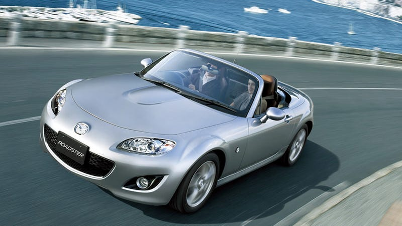 2009 mazda miata mx 5 launched in japan. Black Bedroom Furniture Sets. Home Design Ideas