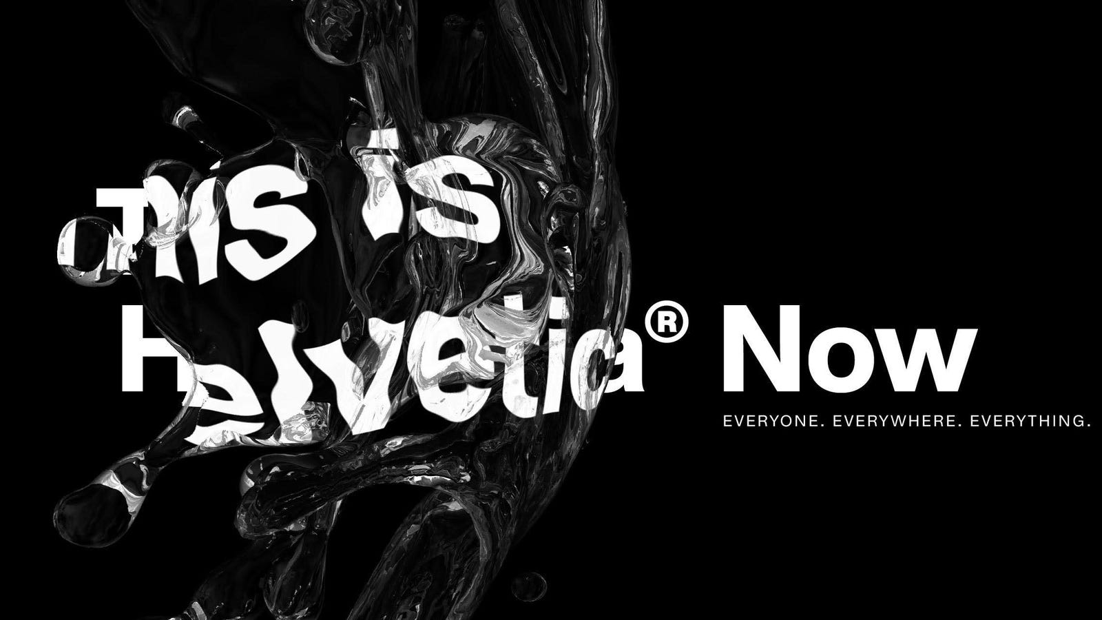 After 36 Years, Helvetica Gets a Much-Needed Facelift