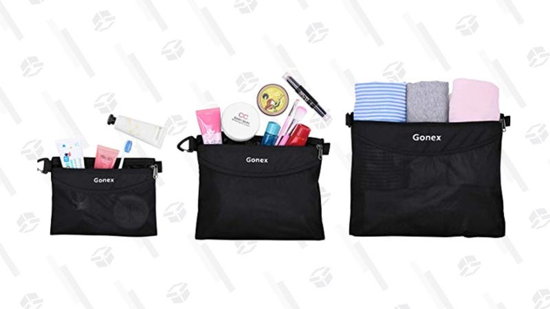 Gonex Travel Packing Toiletry Pouches | $13 | Amazon | Clip the 5% off coupon and use code CLP27CLB