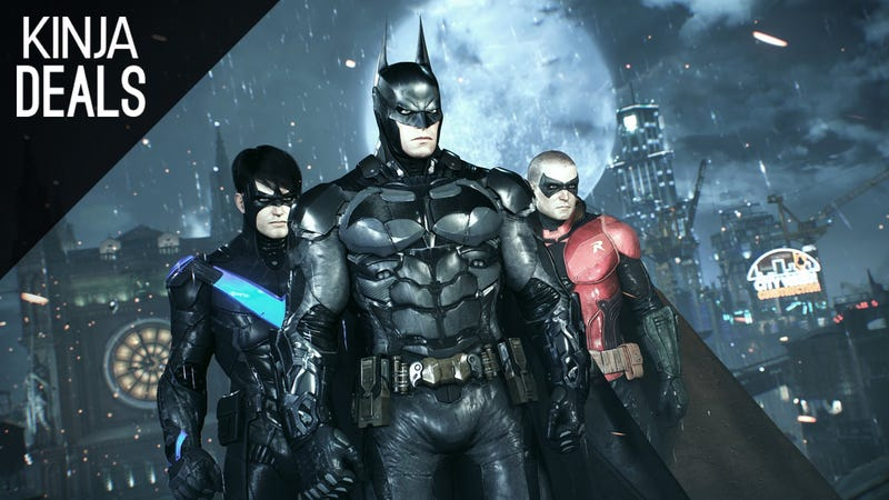 Illustration for article titled Arkham Knight is Down to $20 on Consoles, Where It's Actually Playable
