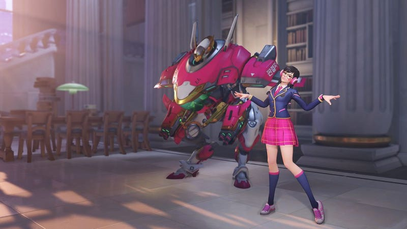 Illustration for article titled Overwatch's New Anniversary Skins Are All Over The Place