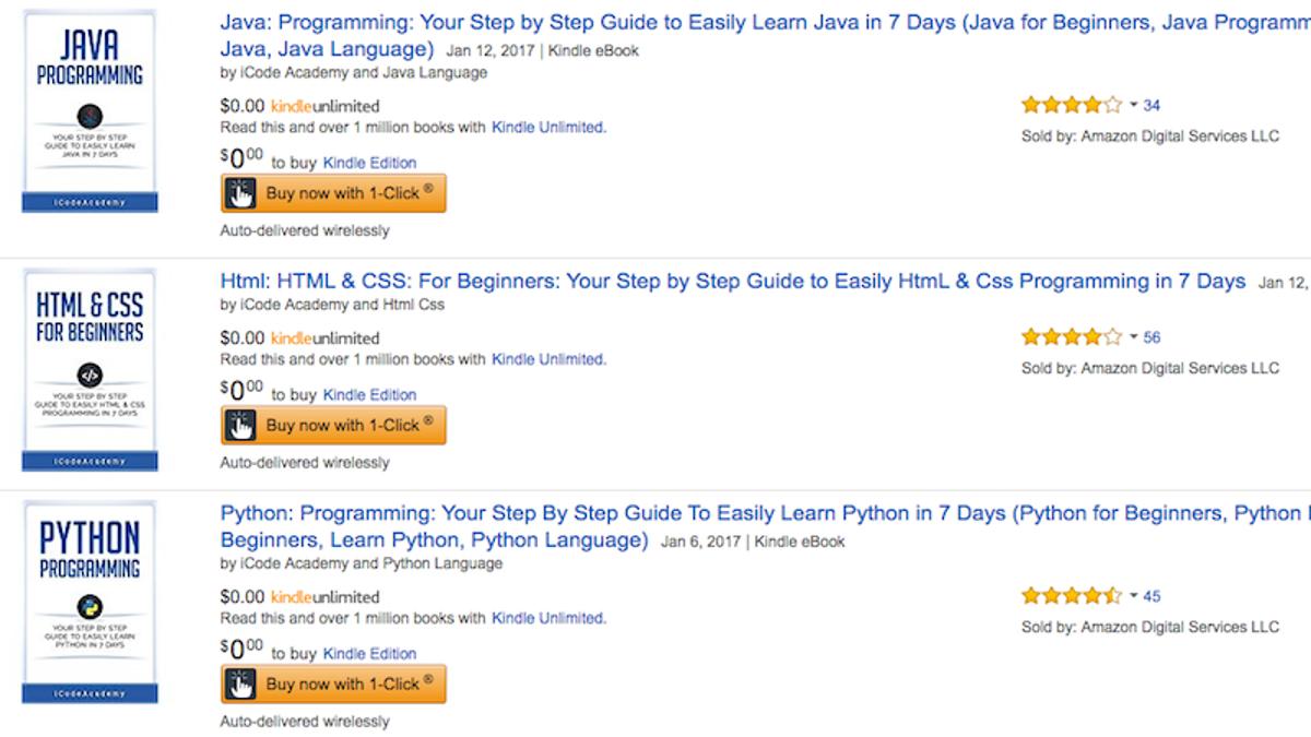 Snag three free programming guides for html python and java for snag three free programming guides for html python and java for your kindle right now baditri Choice Image
