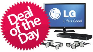 """Illustration for article titled 47"""" LG 1080p 120Hz 3D HDTV Is the Boob Tube Deal of the Day"""