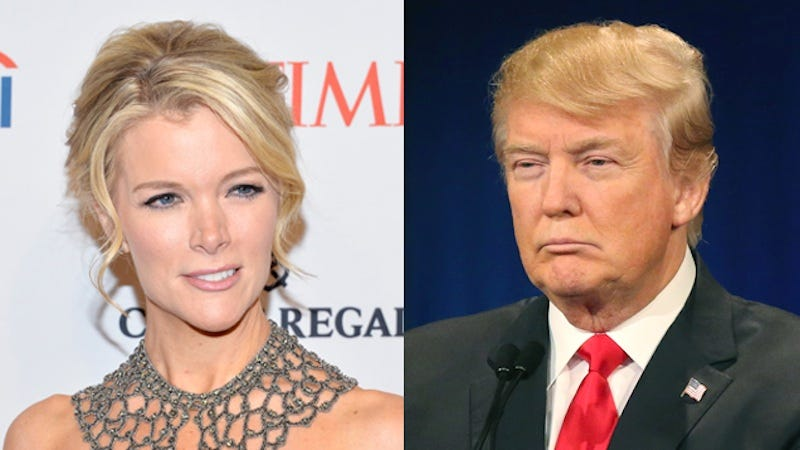 Illustration for article titled After Donald Trump Went Crazy Calling Megyn Kelly Crazy, Fox News Kinda Did Something