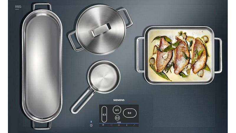 Full Surface Induction Cooktop Gives You The Freedom To Place Your