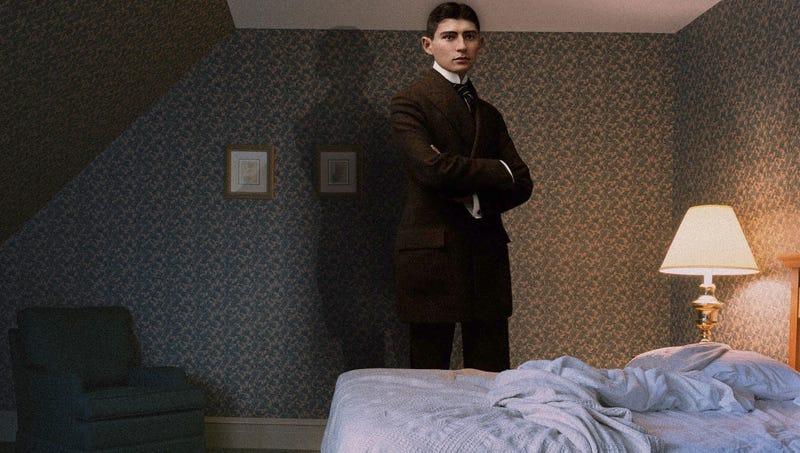 Illustration for article titled Strange, Nightmarish Incident Results In Man Waking Up As Giant Kafka