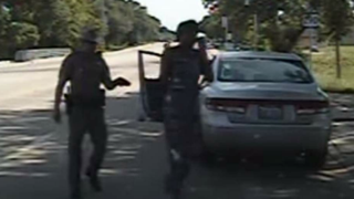 Dash-cam footage shows Texas Trooper Brian Encinia following Sandra Bland during her arrest July 10, 2015. YouTube