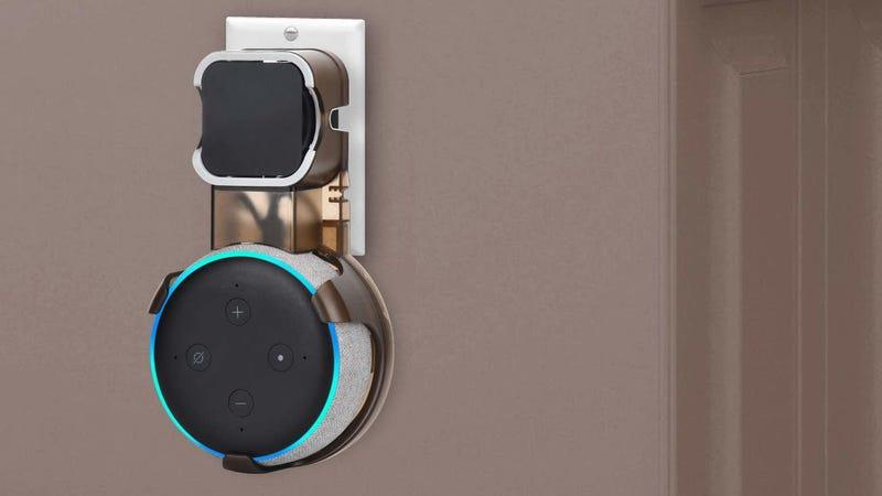 Echo Dot Wall Mount | $10 | Amazon | Promo code 59S6AT8E
