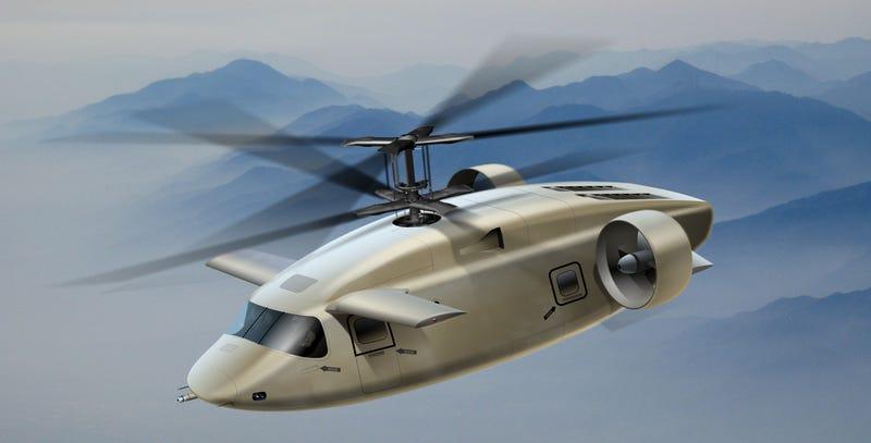 Illustration for article titled Los próximos helicópteros de transporte podrían parecerse a esto